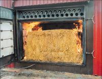Straw boiler